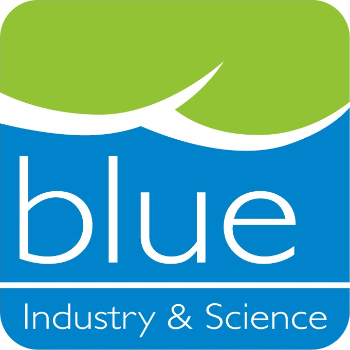 Logo Blue Industry & Science