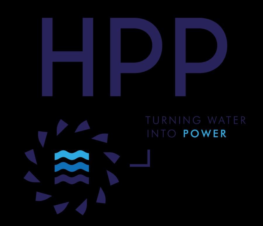 Logo HPP - Hydro Power Plant