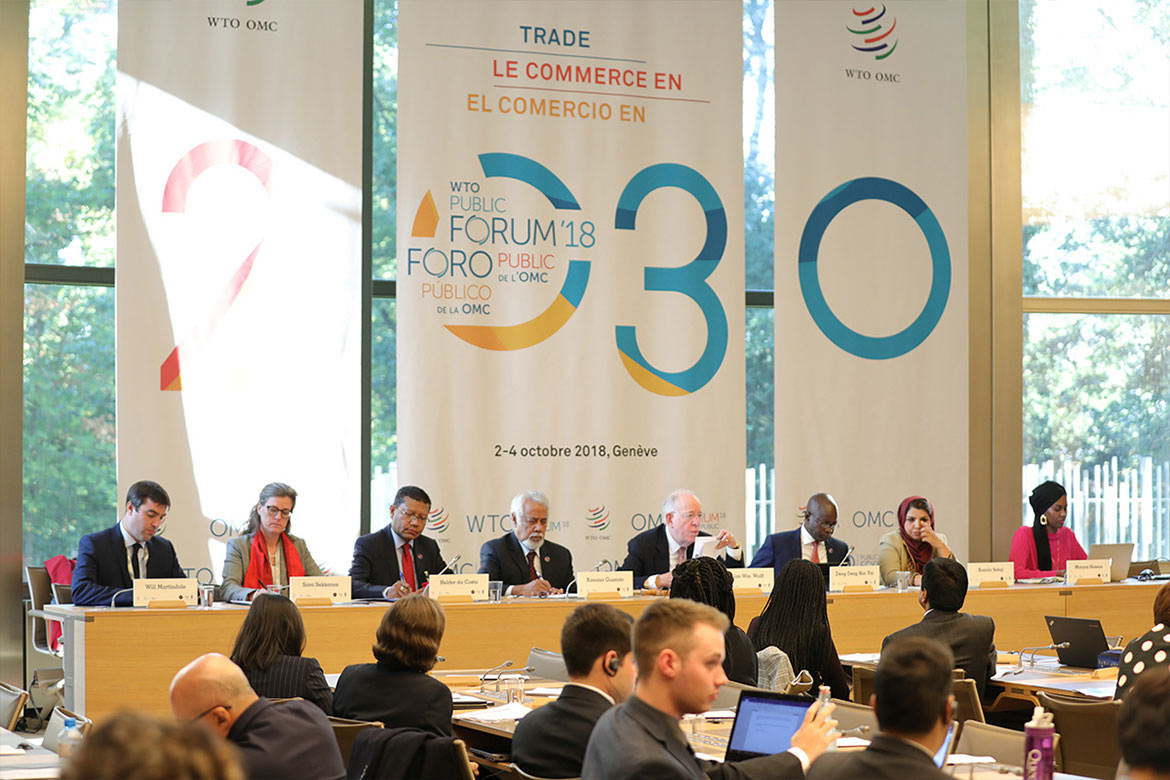 WTO Public Forum - Trade in 2030