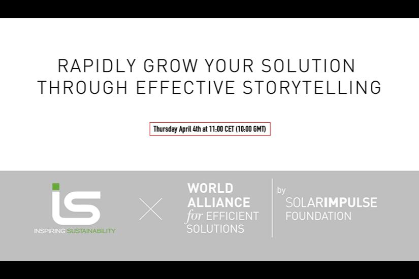 Effective Storytelling Webinar