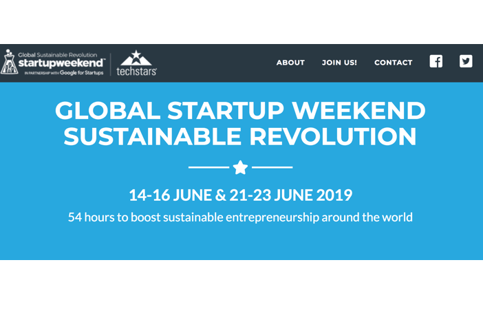 Global Startup Weekend Sustainable Revolution