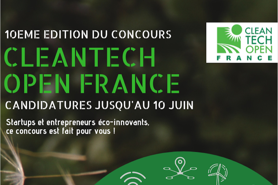 Cleantech Open France - APPLICATIONS!!