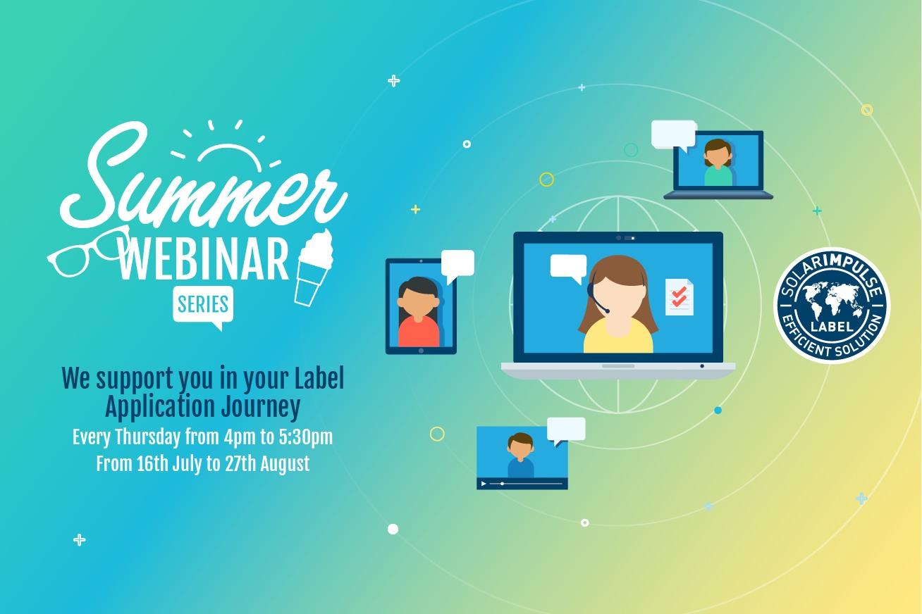 Summer Webinar Series for Innovators