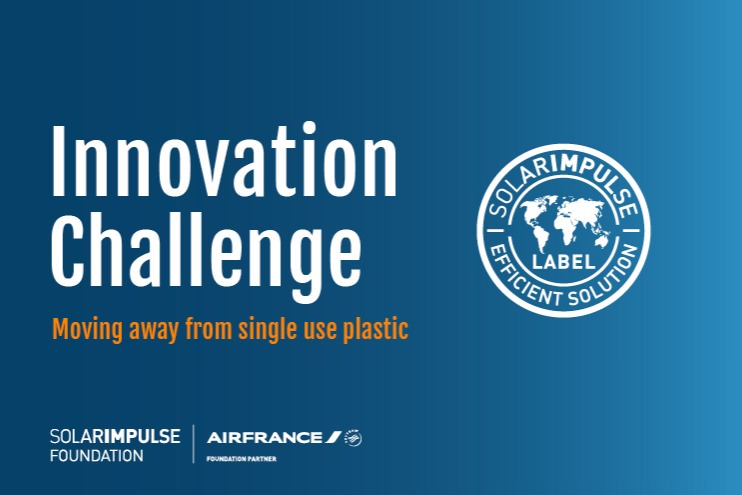 Innovation Challenge by Air France : Champagne & Wine Glasses single use plastic alternatives
