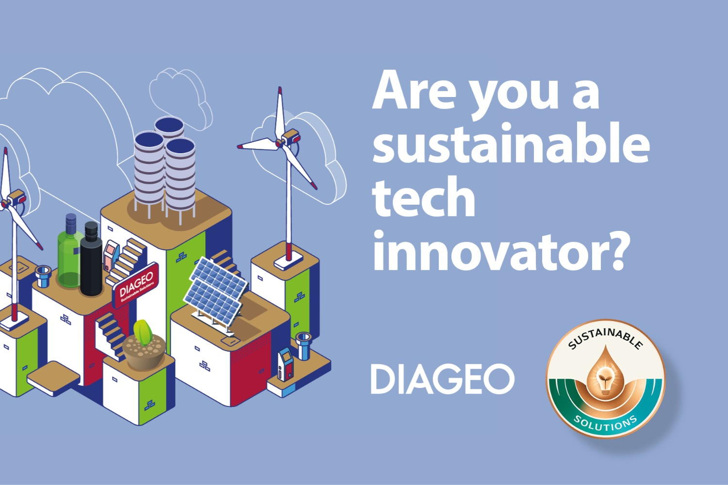 Diageo collaborates with innovators to create a more sustainable world