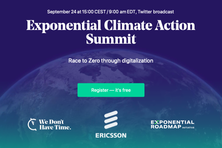 Exponential Climate Action Summit