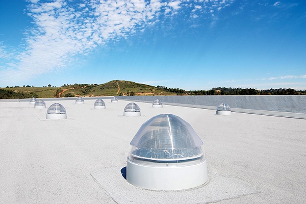 Solatube's rooftop domes