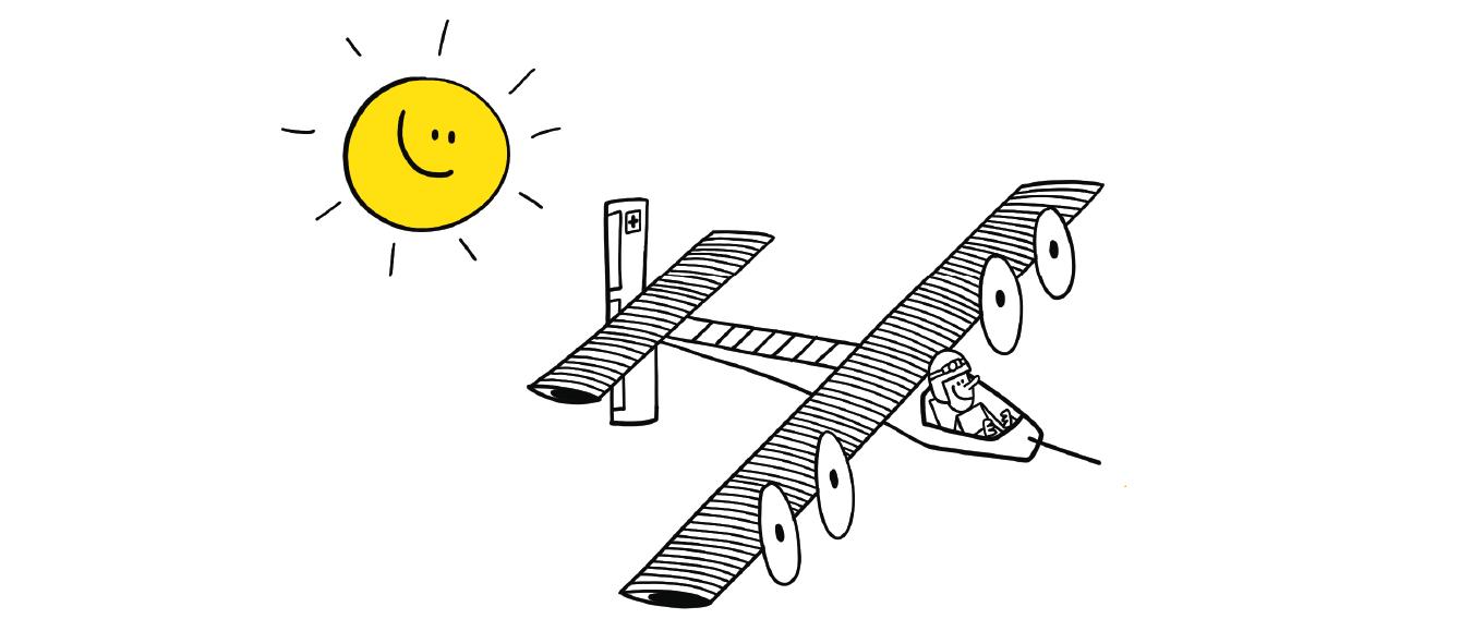 dession avion solaire