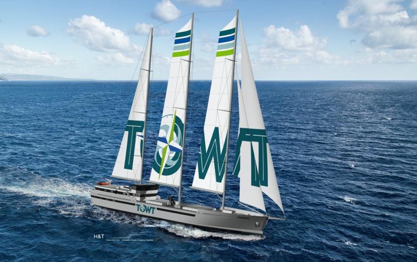 Sailing ships to decarbonize transatlantic trade - TOWT