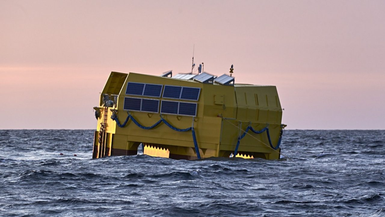WaveGem®, to harness the power from the ocean