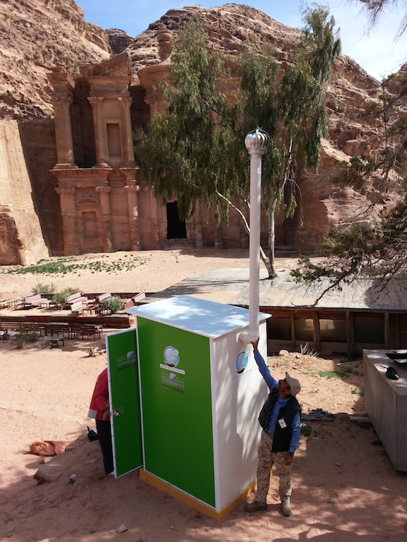 Ecoloo, sustainable off-grid toilets