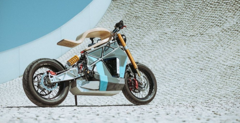 e-raw electric motorcycle