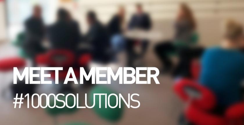 meet a member #1000 solutions
