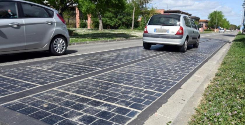 wattway solar road