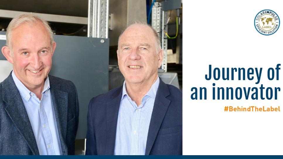 The two founders of CCm Technologies : Professor Peter Hammond (CTO), and Pawel Kisielewski (CEO)