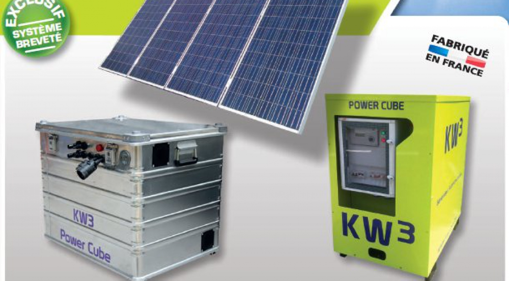 Offer Stand Alone Solar Generator KW3