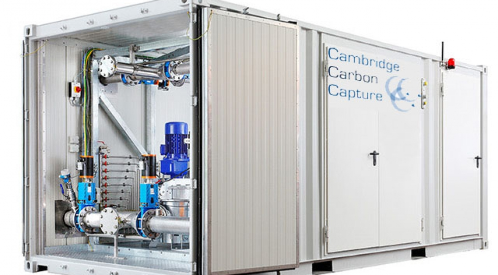 Offer CO2 capture and mineralisation of CO2 from industrial emissions