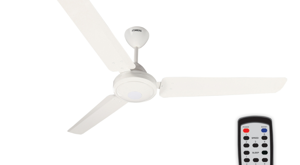 Offer SUPER EFFICIENT CEILING FANS BY ATOMBERG TECHNOLOGIES