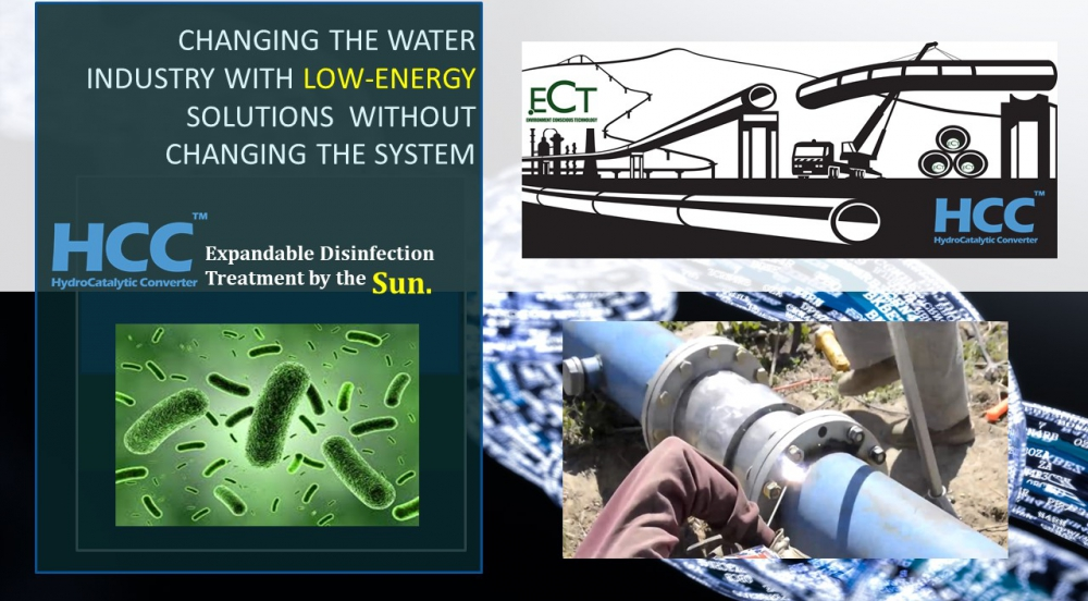 Offer Expandable HCC Multi-Port  Wastewater Disinfection Systems by the Sun.