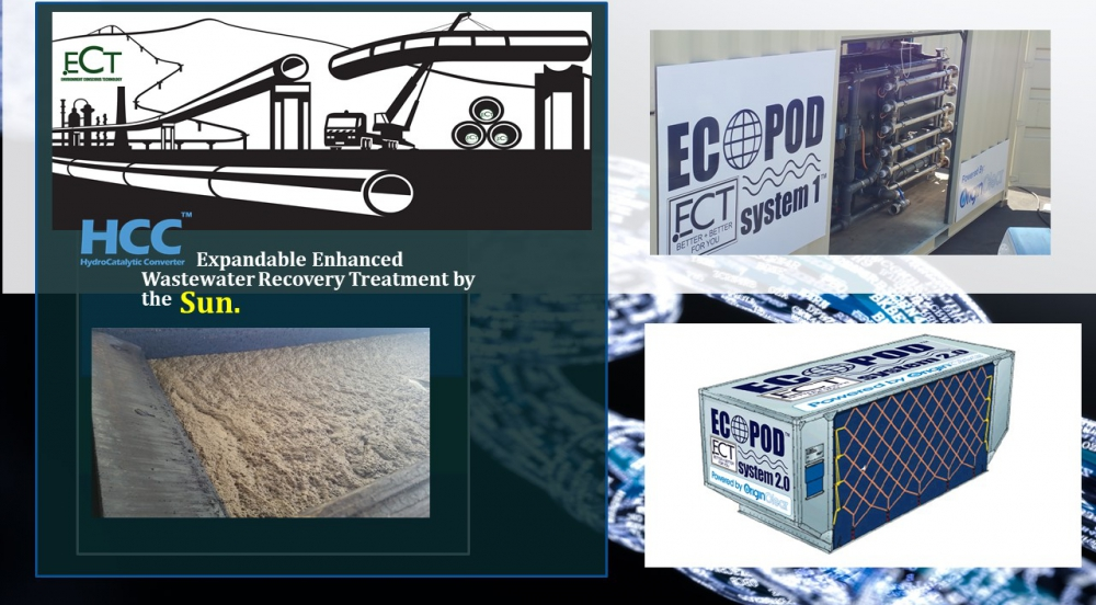 Offer Expandable Enhanced Wastewater Recovery Treatment System by the Sun.