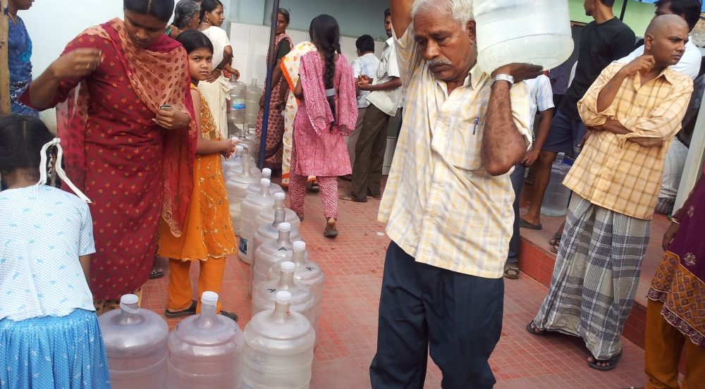 Offer Community Safe Drinking Water Systems