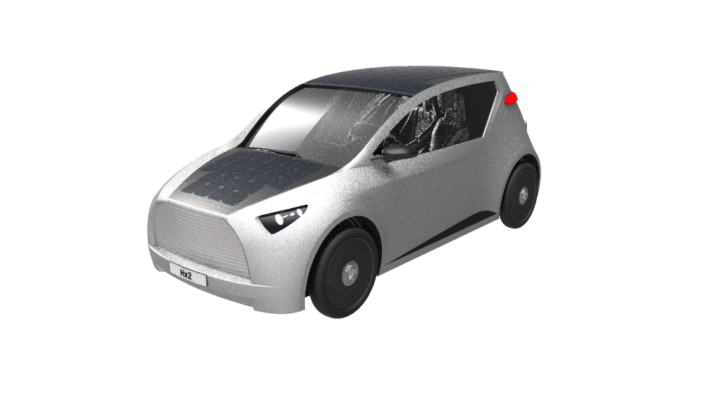 Offer Hx² free energy solar car