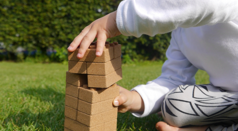 Offer QURKIES: Eco-friendly toy blocks made of CORK!