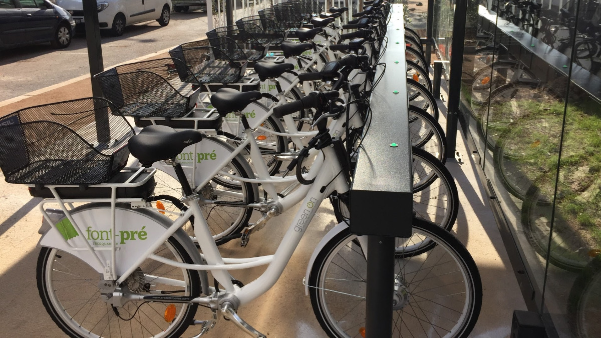 Offer e bike sharing stations