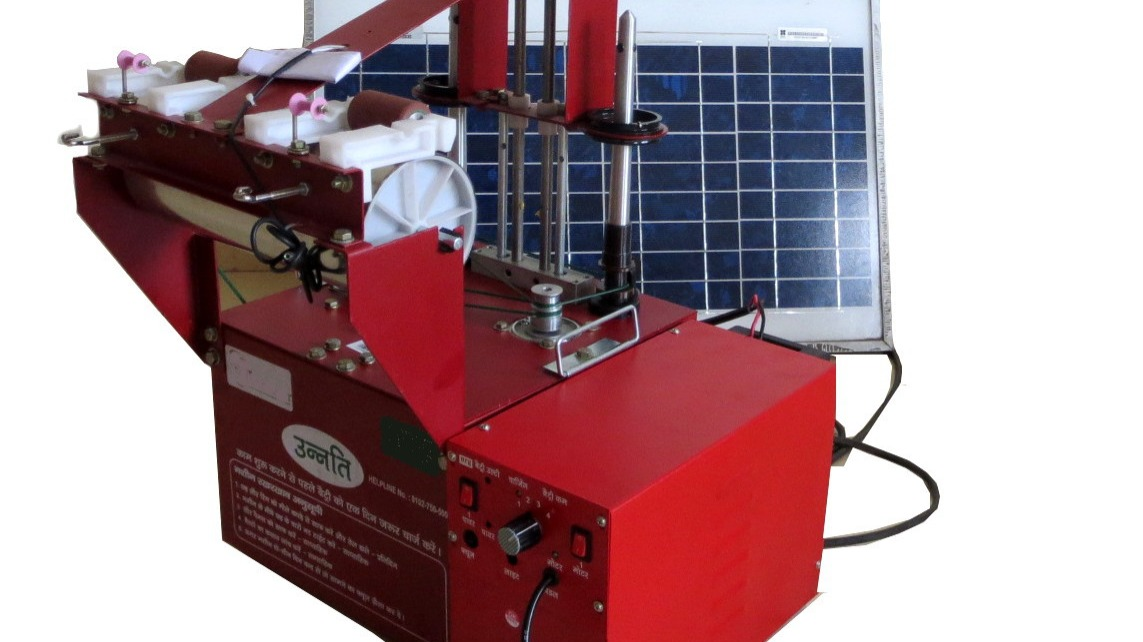 Offer Unnati - Solar Powered Silk Reeling & Spinning Machine