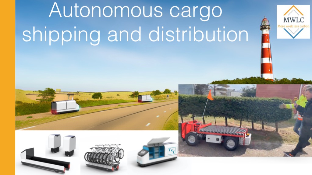 Offer Autonomous Cargo Shipping and Distribution