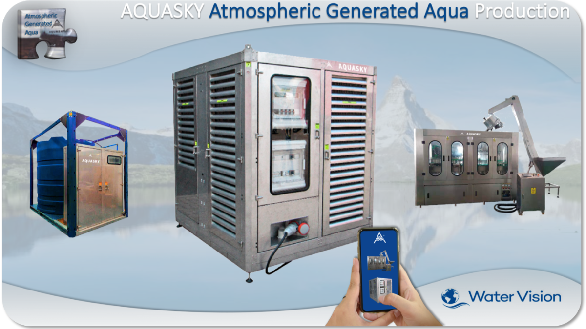 Offer AQUASKY Atmospheric Generated Aqua Production Plant