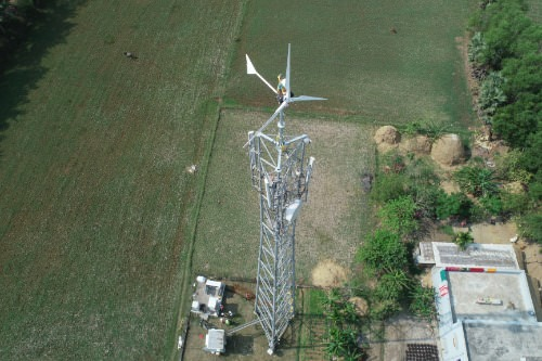 Gallery Wind Turbine For Telecom Towers 1
