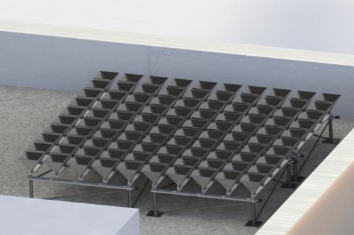 Gallery iPyramid 1 - Flat Rooftop Solar Cogeneration 1