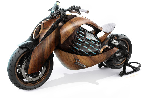 Gallery EV-1 Electric Motorcycle 1