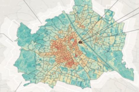 Gallery Urban Heat Vulnerability Map 1