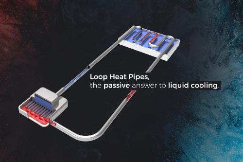 Gallery Loop Heat Pipe (LHP) 1