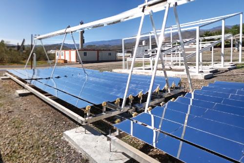 Gallery LF20: Linear Fresnel Solar Collector 1