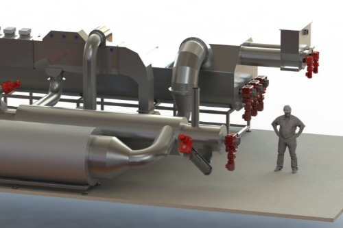Gallery Combined steam drying and pyrolysis unit 1