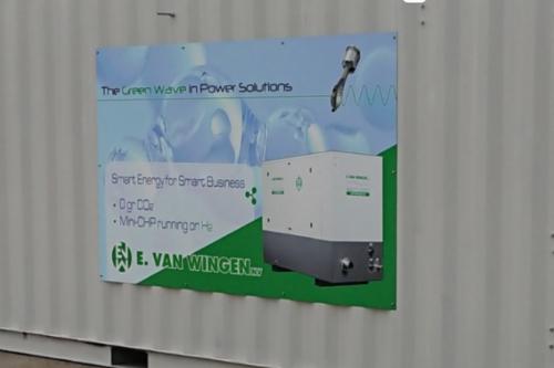 Gallery Hydrogen powered ICE CHP  1