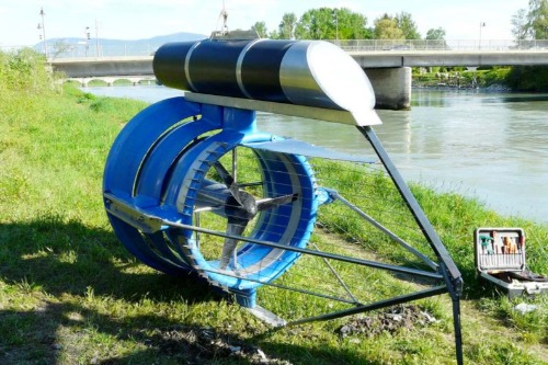 Gallery Hydrokinetic Turbine 1
