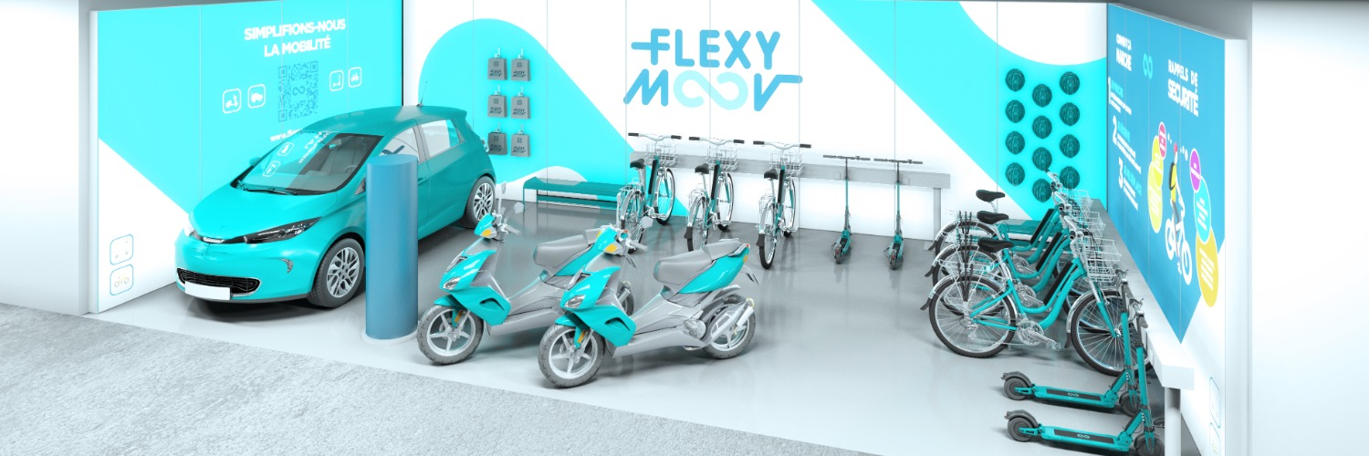 Gallery Shared eco-mobility hubs 1