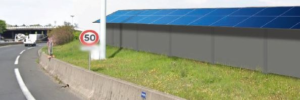 Gallery SunScreen - Photovoltaic Noise Barrier  1
