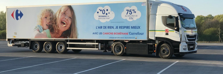 Gallery Biogas heavy truck fleet 1