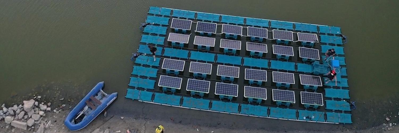 Gallery  HelioRec Floating Solar Power Plant 1