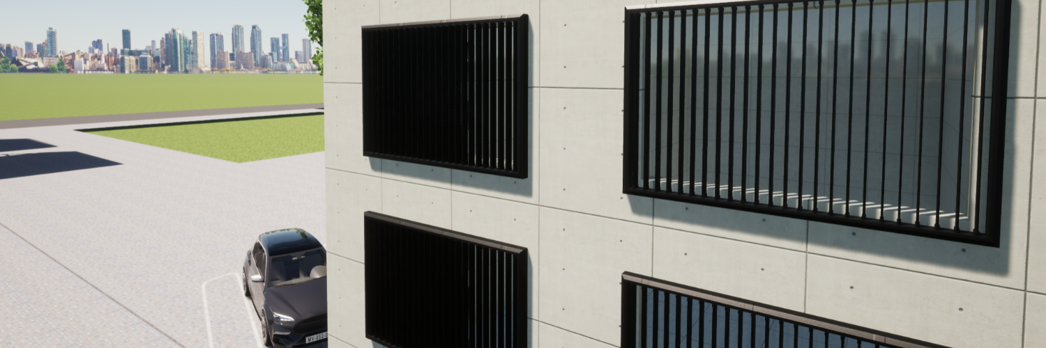 Gallery Smart Voltaic Louvres  1