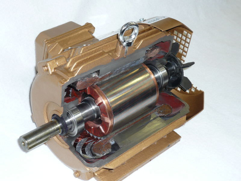 Gallery Die-casting copper rotor technology 2