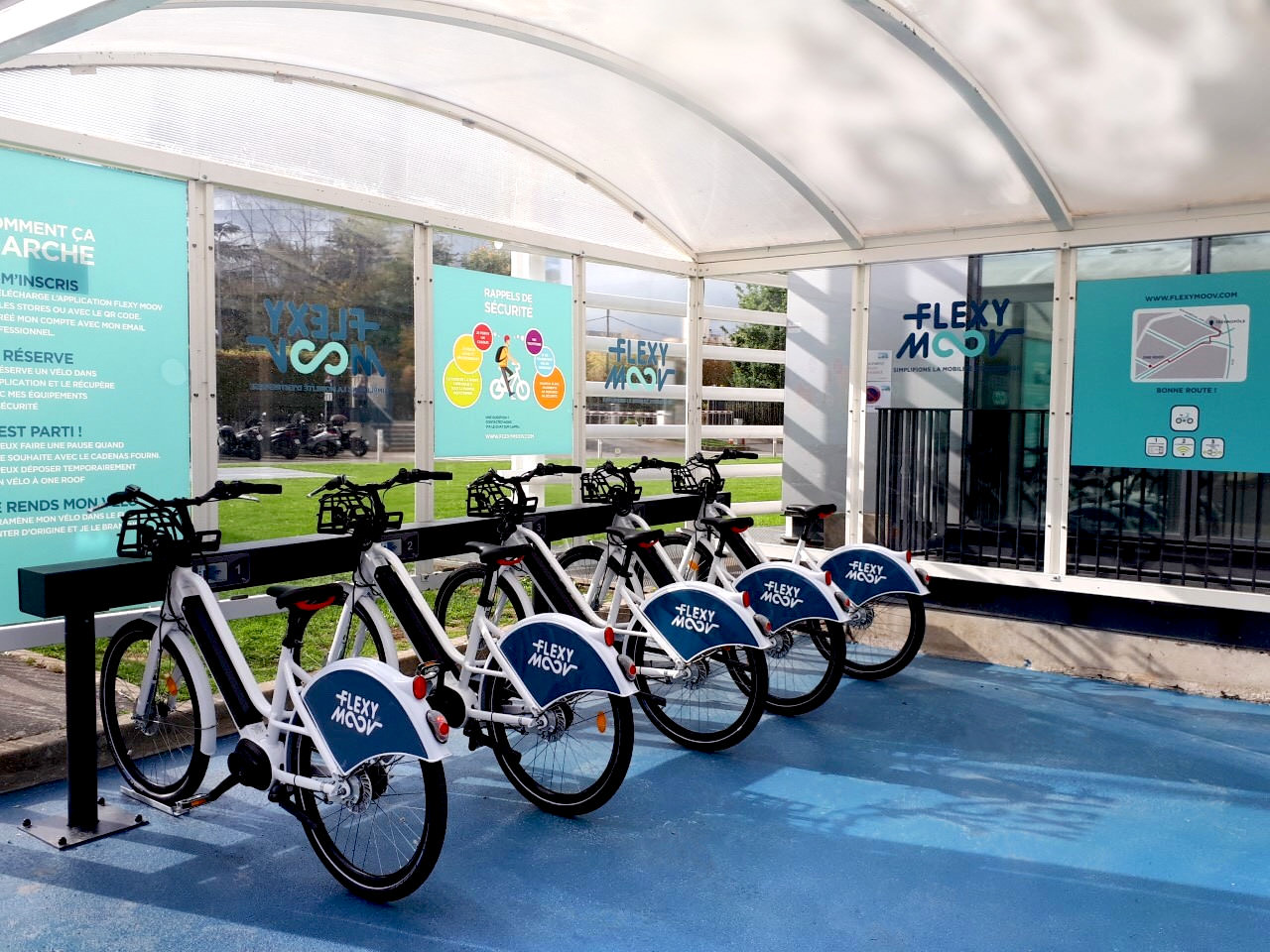 Gallery Shared eco-mobility hubs 2