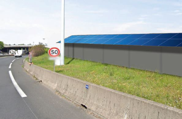 Gallery SunScreen - Photovoltaic Noise Barrier  2
