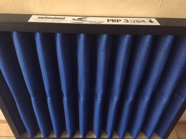 Gallery Interfiltre washable air filter 2