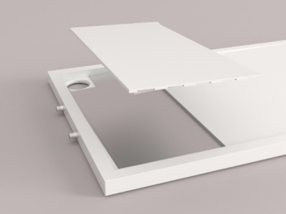 Gallery Passive Shower EcoTray 2